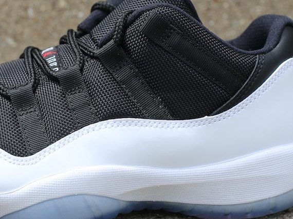 Release Reminder Air Jordan XI Low White Black True Red