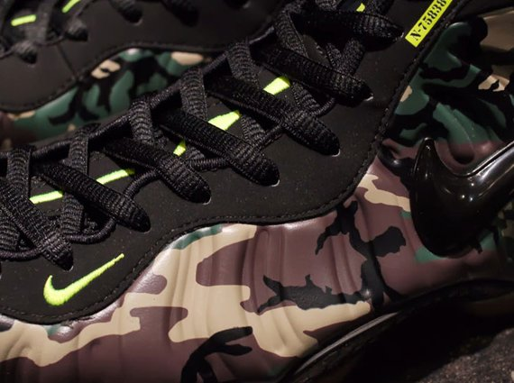 Release Reminder Camo Nike Air Foamposite Pro