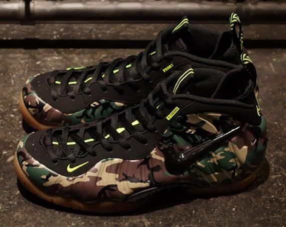 Nike Air Foamposite ProUK Size 8.5624041 304Sequoia ...