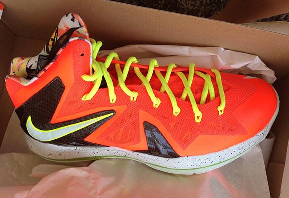 Release Reminder Infrared Volt Nike LeBron X Elite