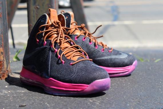 Release Reminder Nike LeBron X EXT Denim