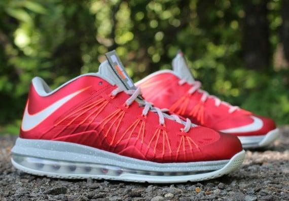 Release Reminder Nike LeBron X Low University Red