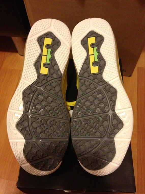 Release Update Nike LeBron X Low Sonic Yellow