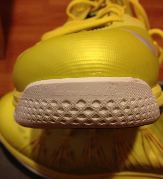 Release Update Nike LeBron X Low Sonic Yellow