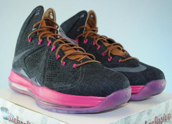 Retail Price Info Nike LeBron X EXT Denim