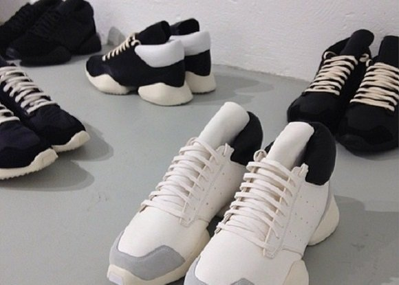 Rick Owens x adidas Collaboration First Look