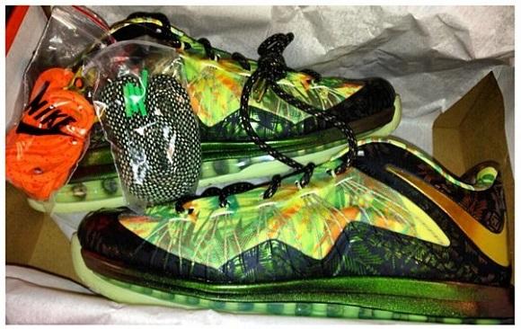 Sneak Peek Nike LeBron X Low 2 Time Champion