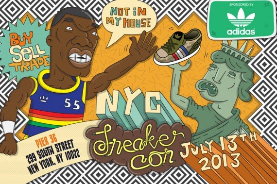 Sneaker Con NYC July 13, 2013