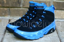 Unreleased Sample: Air Jordan IX Photo Blue Patent Leather/Black