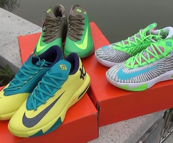 Upcoming Colorways Nike KD VI