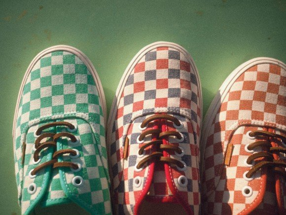 Vans California Collection Fall 2013 Checker Pack