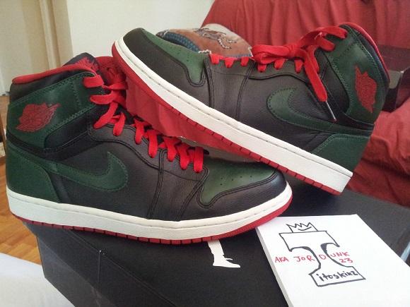 What The Sample Air Jordan I 1 OG Gucci Sample