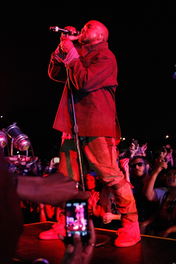 WTF Did Kanye West Drop The Release Date Of The Red Yeezy 2 On Yeezus