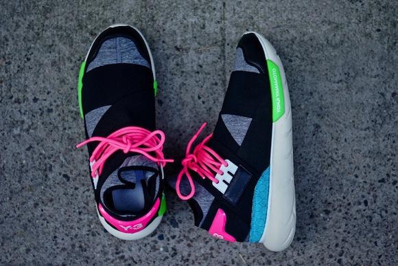 dcede5ee7cb8 Adidas Y-3 Qasa High (Black Neon) - Exclusive Release