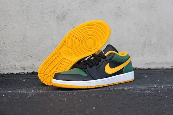 reputable site b2e52 4d52c Air Jordan 1 Low Pack Formidable Foes New Release