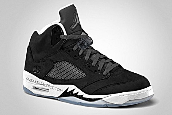Air Jordan Retro 5 Oreo – Another Look