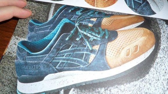 CNCPTS Asics Gel Lyte III Three Lies Fake Images