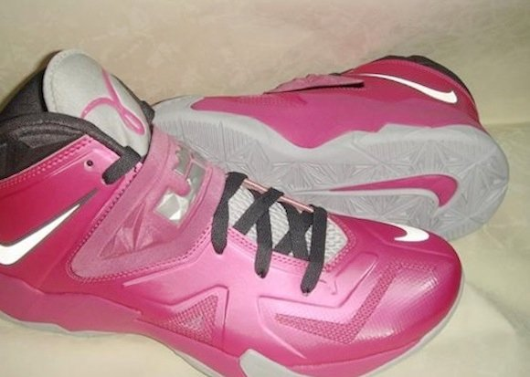 Lebron Soldier VII 7 Think Pink Detailed Images