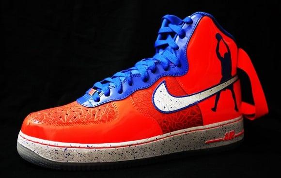 "Nike Air Force One – ""Roscoe"" Rasheed Wallace PE"