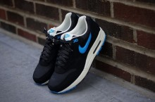 Nike Air Max 1 Premium (Black/Blue) – Available Now