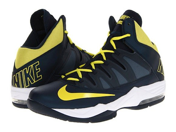 Nike Air Max Stutter Step Armory Navy Sonic Yellow Now Available