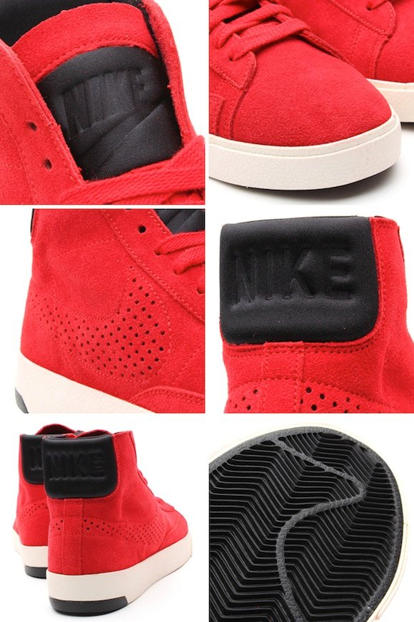 Nike Blazer Lux University Red Black Upcoming Release