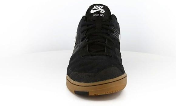 best loved f3980 42e3f Nike SB Lunar Gato Black White Gum New Release