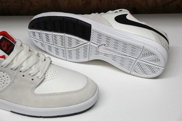 outlet Nike SB Paul Rodriguez 7 Sail Black Red New Release Update