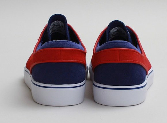 Nike SB Zoom Stefan Janoski Low Royal Red New Release