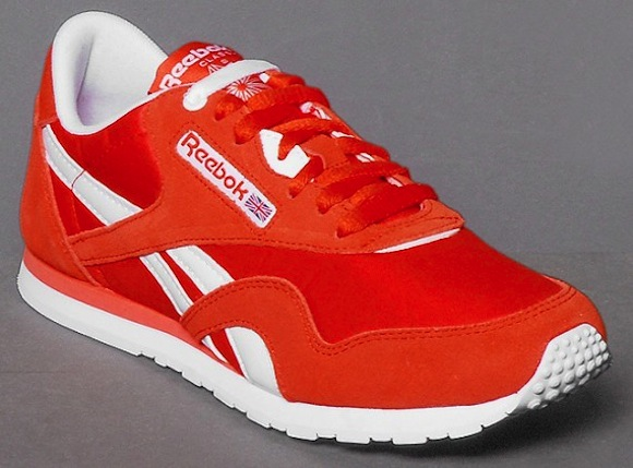 Reebok CL Nylon Slim Orange White New Release