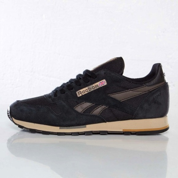 Reebok Classic Leather Black Brown New Release