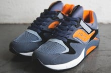 Saucony Grid 9000 (Navy/Orange) – New Release