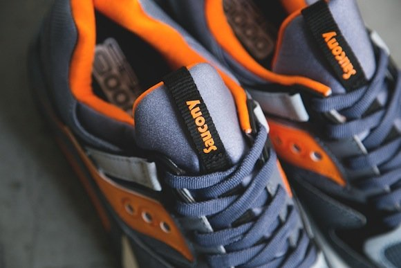 Saucony Grid 9000 Navy Orange New Release