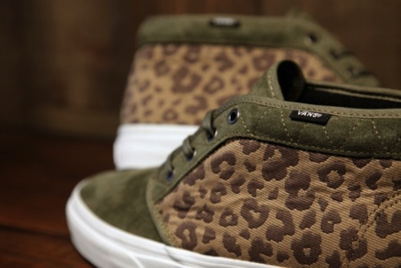 Vans California Chukka Leopard Camo Now Available