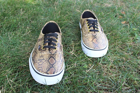 Vans Classics Snakeskin Pack Now Available