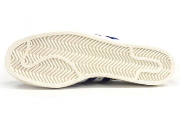 adidas Originals Superstar 80s White Purple New Release