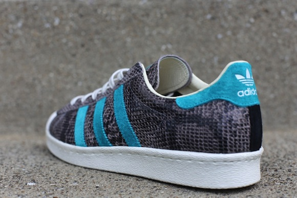 adidas Superstar 80 Turquoise Grey New Release