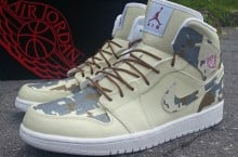 "Air Jordan 1 ""Digi-Camo"" Customs by Ecentrik Artistry"
