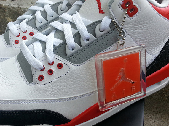 competitive price b6278 dda49 ... switzerland air jordan iii fire red another look 9ed95 cabb8