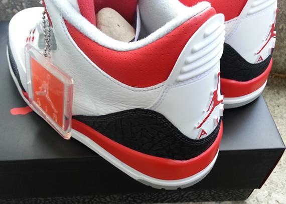 Air Jordan III Fire Red Another Look