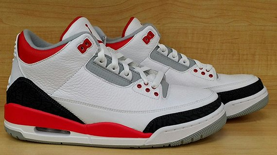 Air Jordan III Fire Red Yet Another Look
