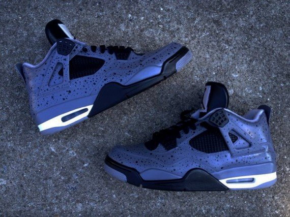 Air Jordan IV All Over Cement by DeJesus Customs