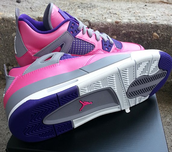 Air Jordan IV GS Pink Flash Yet Another Look
