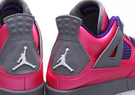 new Air Jordan IV GS   Pink Foil   Release Date - s132716079 ... 03f65e52a2