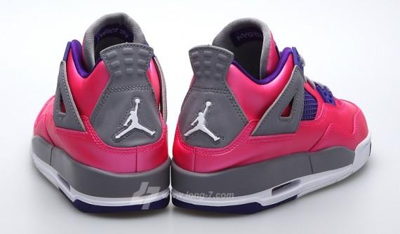 Air Jordan IV GS Pink Foil Release Date