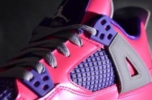 "Air Jordan IV GS ""Pink Foil"" – Yet Another Look"