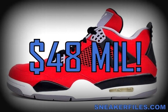 Air Jordan IV Retro Toro Bravo Sells 300000 Pairs