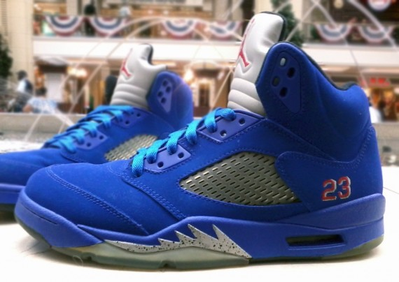 Air Jordan V Chris Paul by Mr Exclusive Customs
