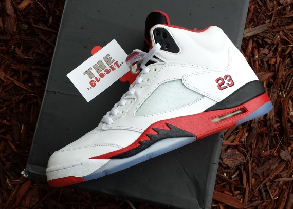 Air Jordan V Fire Red Yet Another Look