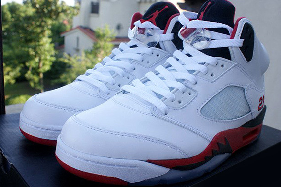 Air Jordan V GS Fire Red First Look